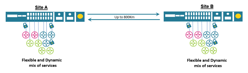 200G Connectivity over Single DWDM Wavelength - PacketLight