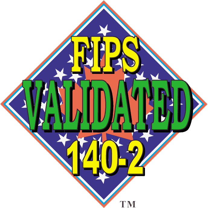 FIPS 140-2 Level 2 Certified
