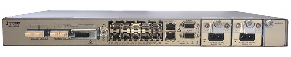 PL-1000R DWDM Raman Amplification Solution - Optical Infrastructure Products