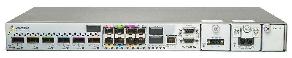 PL-1000TN 10G DWDM Transponder for unified transport of 10Gbe LAN/WAN, OTU2/OTU2e, STM64/OC-192 and 8G/10G FC